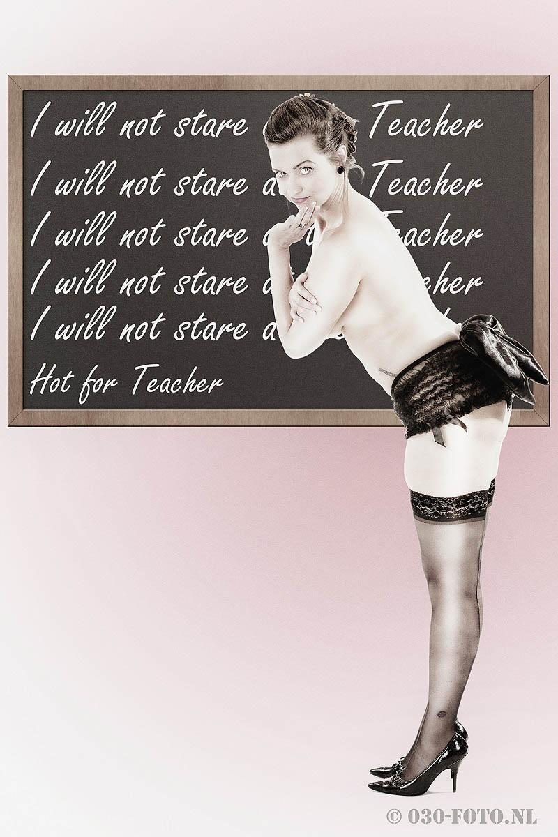Hot for teacher - Model Astrid